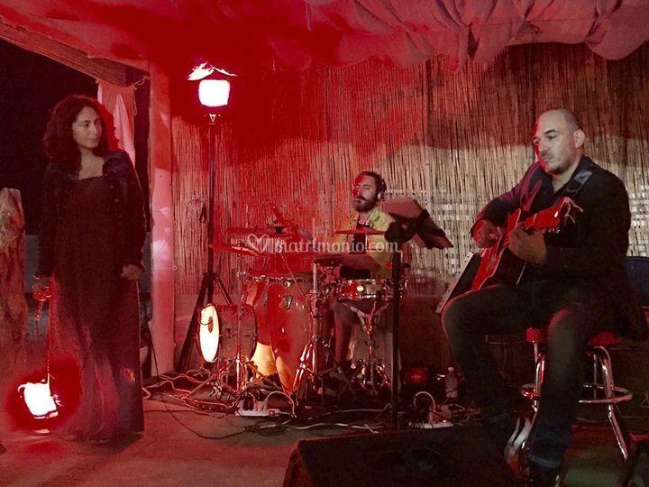 Con Jader nonni - percussioni