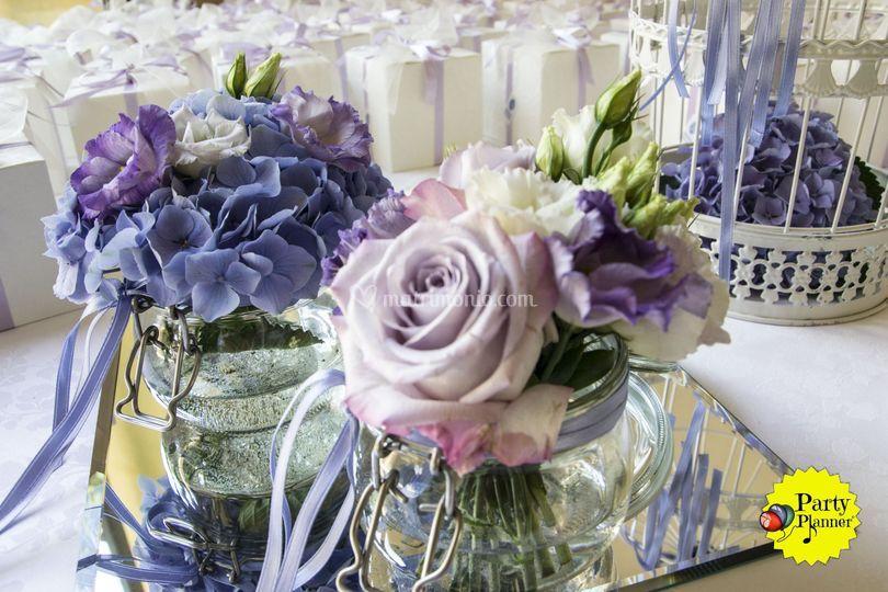 Matrimonio Tema Floreale : Party planner