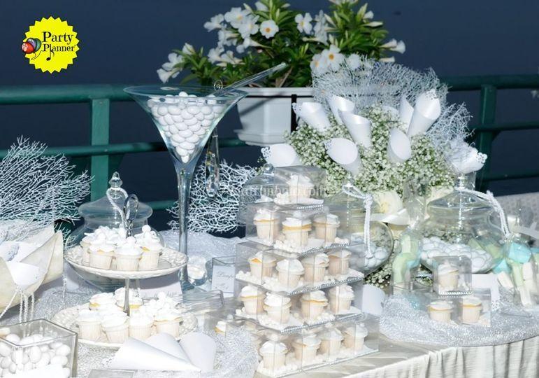 Tema Matrimonio Total White : Party planner
