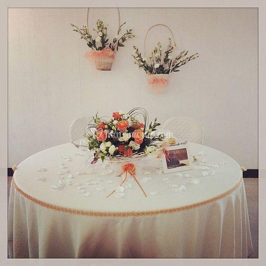 Allestimenti - tavolo sposi