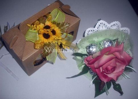 Confezioni con  fiori