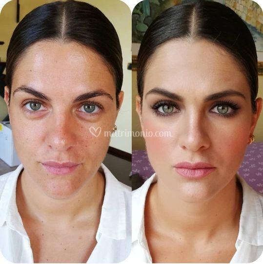 Makeup testimone della sposa