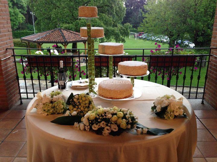 Allestimento torta