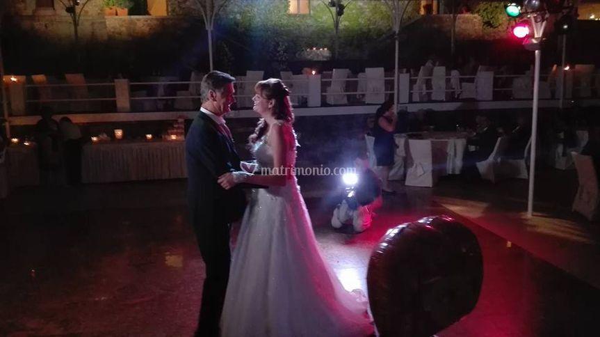 Ballo con il papà della sposa