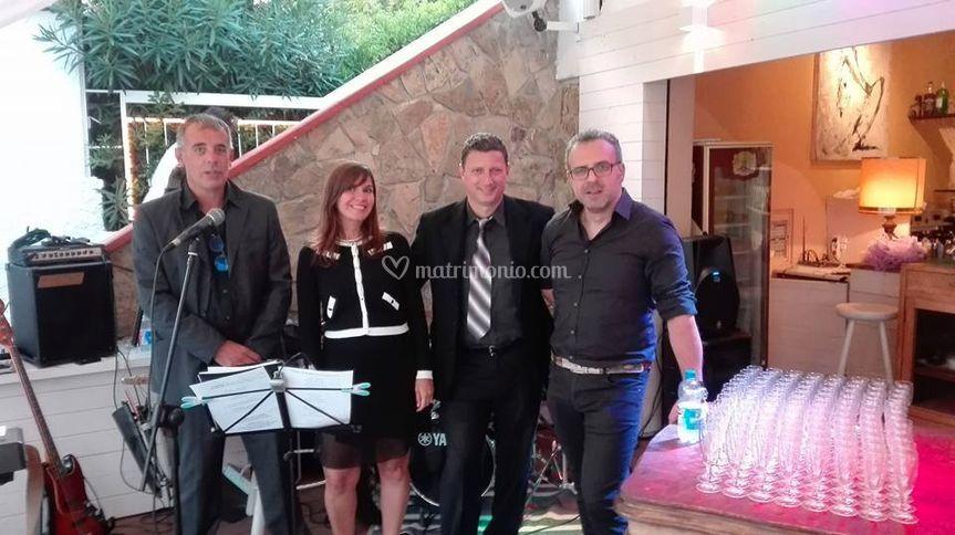 In quartetto jazz con Dino Cer