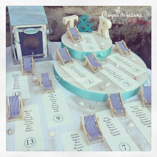 Tableau de Mariage di Olimpia Productions Weddings  Foto