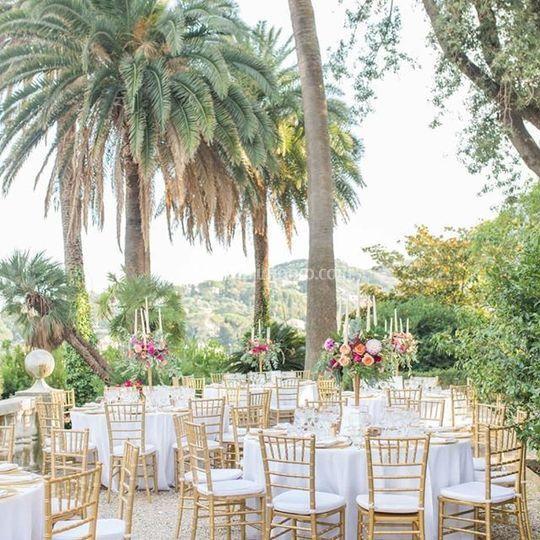 Ricevimento matrimonio Liguria