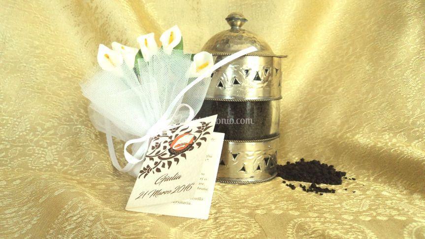 Vasetto vetro con thè