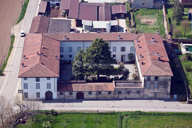 Foto aeree villa