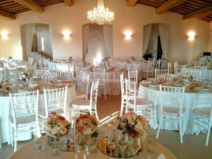 Allestimento location di Il Quadrifoglio Catering & Banqueting