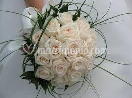 Bouquet rose vendela avorio