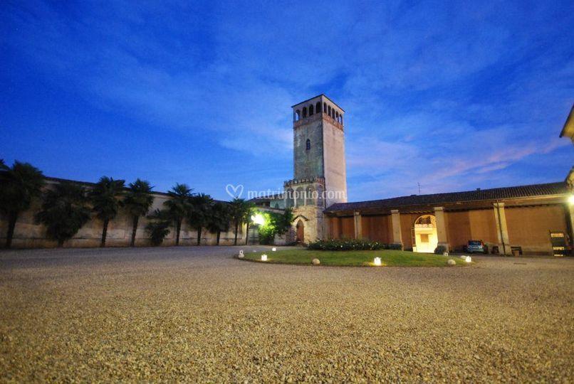 La Torre nella corte principal