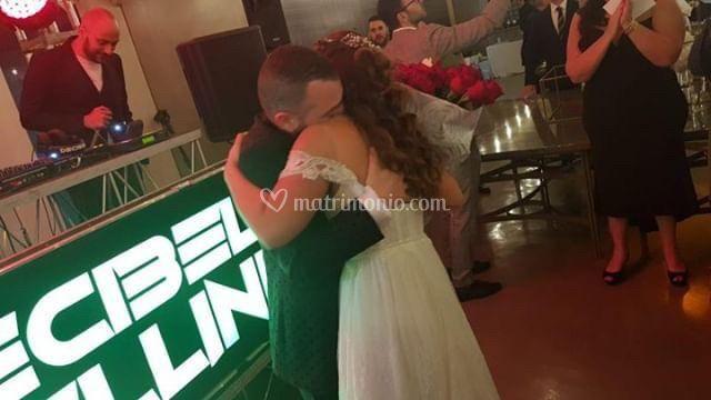 L'emozione dello sposo
