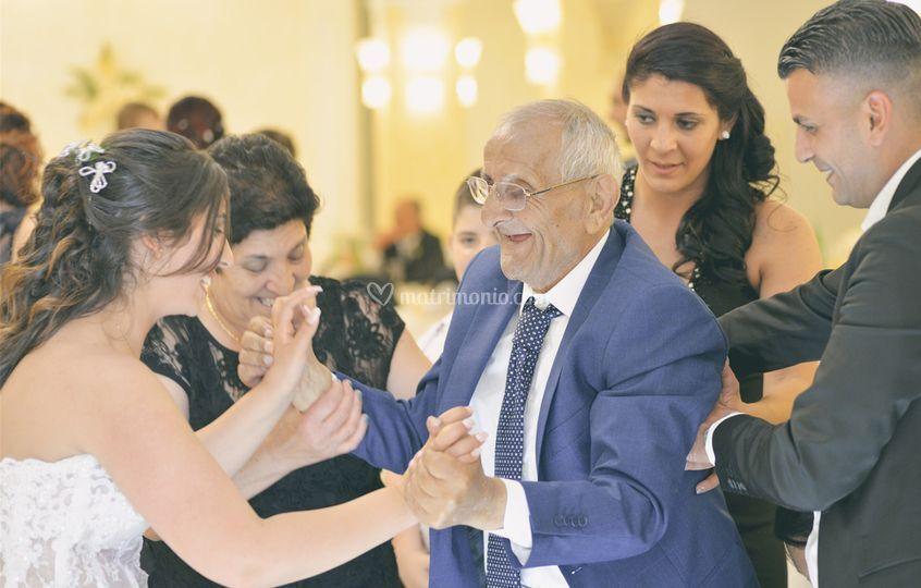 Il ballo con il nonno