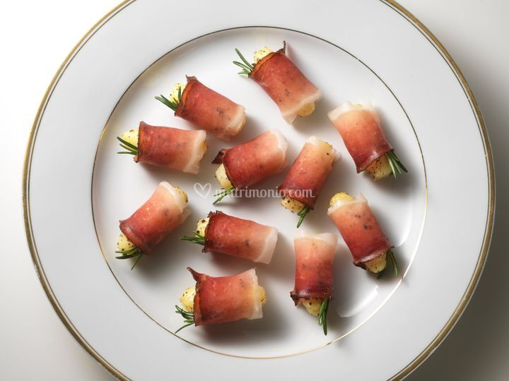 ... patate rosmarino speck
