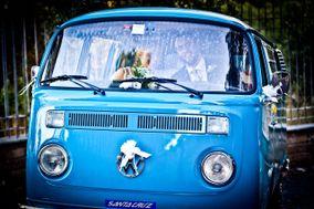Light Blue Bus