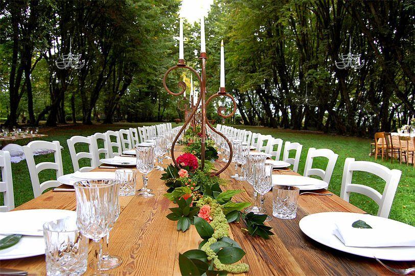 Tavolo imperiale parco