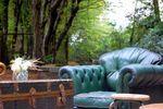 Salottino parco vintage