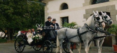All'altare in carrozza