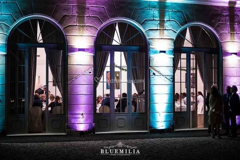 Bluemilia luci architettoniche