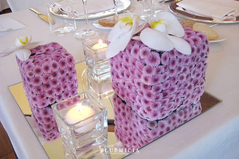 Bluemilia cubi floreali