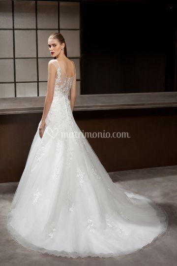 Sposa new romantic l'orchidea