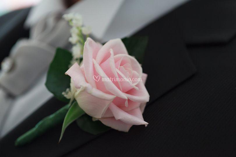 Boutonnière sposo