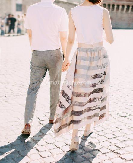 Post wedding session