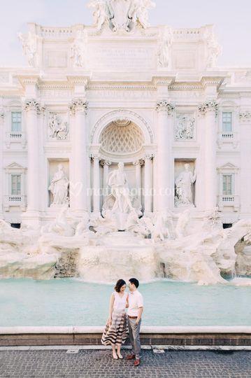 Rome Post wedding session