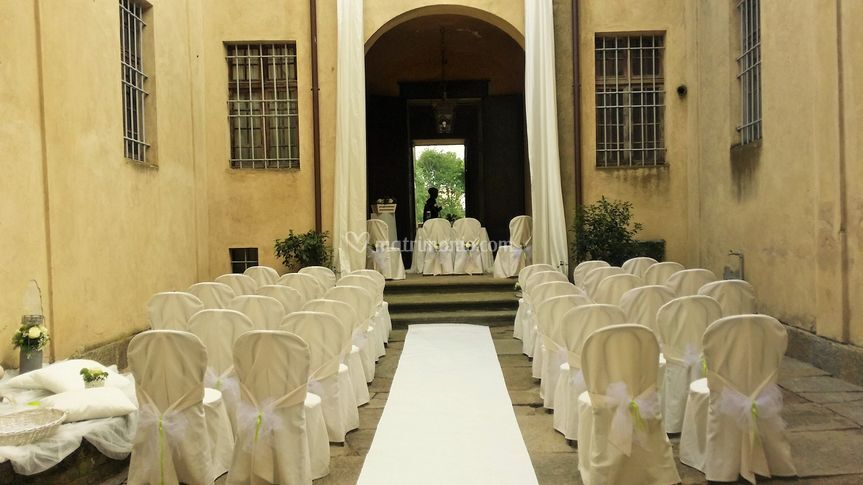 Matrimonio In Loco : Cerimonia in loco di castello galli foto