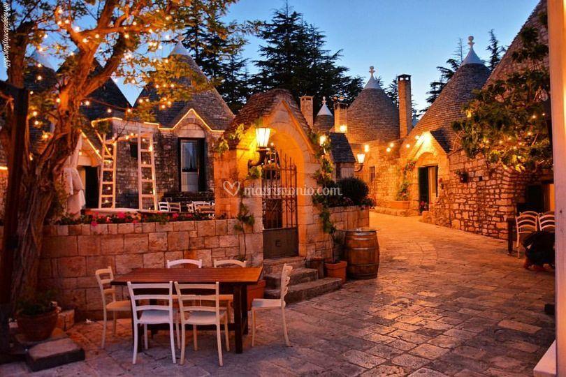 Borgo dei trulli di Tenuta Monacelle