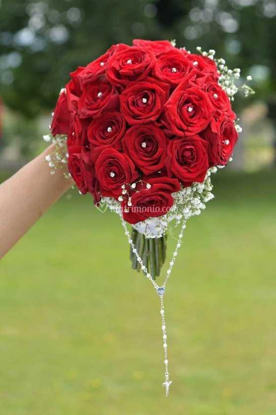Bouquet Sposa Rose Rosse.Bouquet Sposa Rose Rosse Di Wedding Event Italy Patti Planner