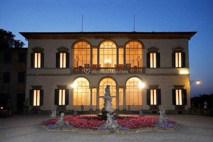 Villa cassoli for Interno ville foto