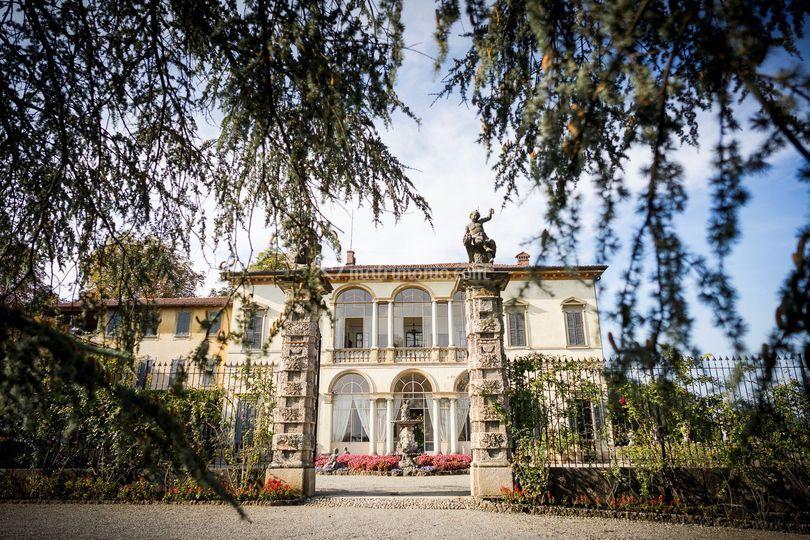 Villa, lato Sud