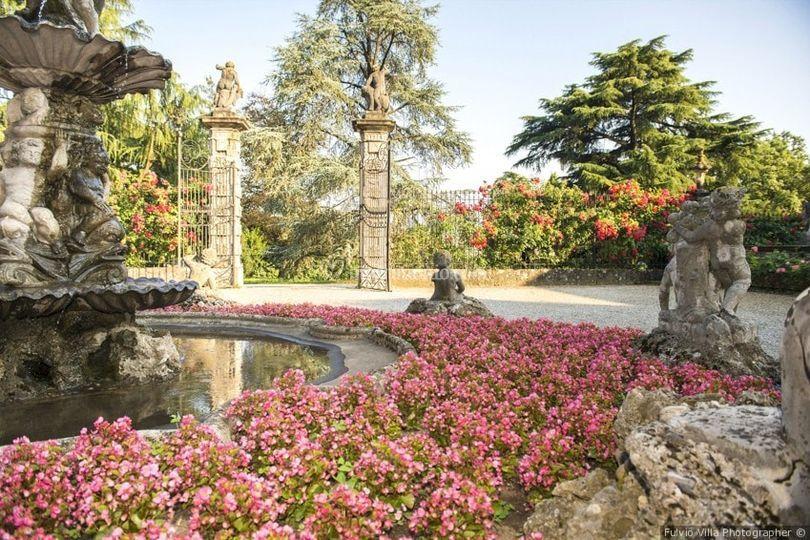 Particolare giardino lato nord