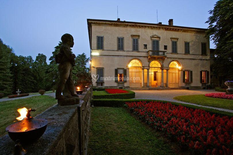 Villa, lato Nord