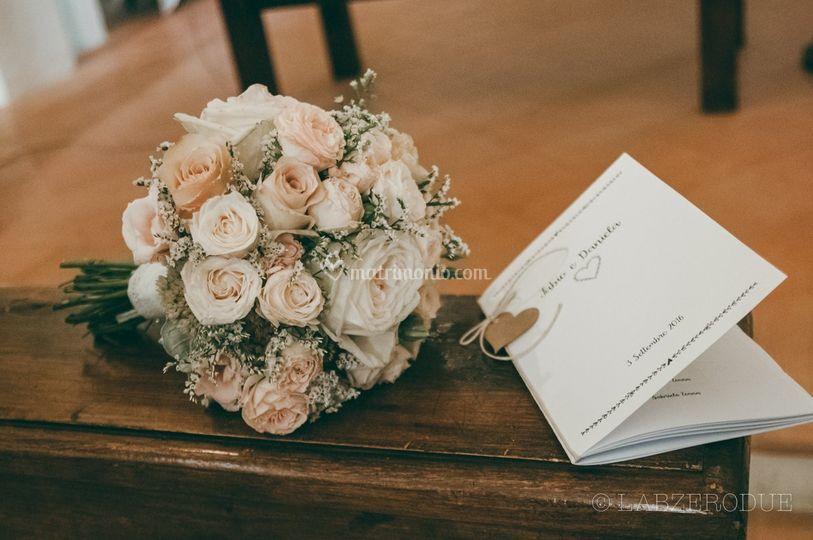 Bouquet e libretto messa