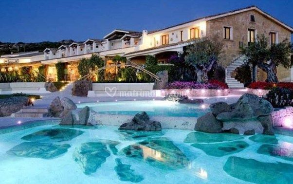 Hotel a bordo piscina