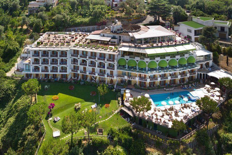 Grand hotel president ( veduta aerea )