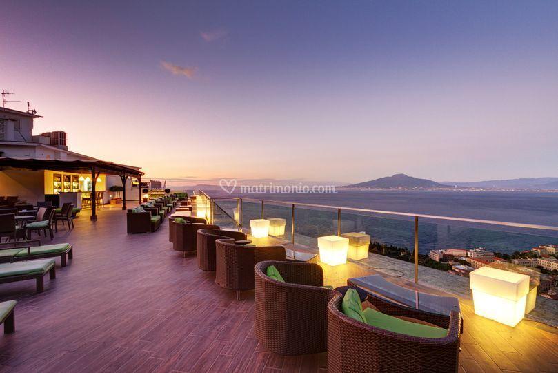 Bar terrazzo aperitivo