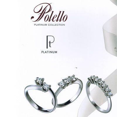 Gioielleria Polello in platino e diamanti