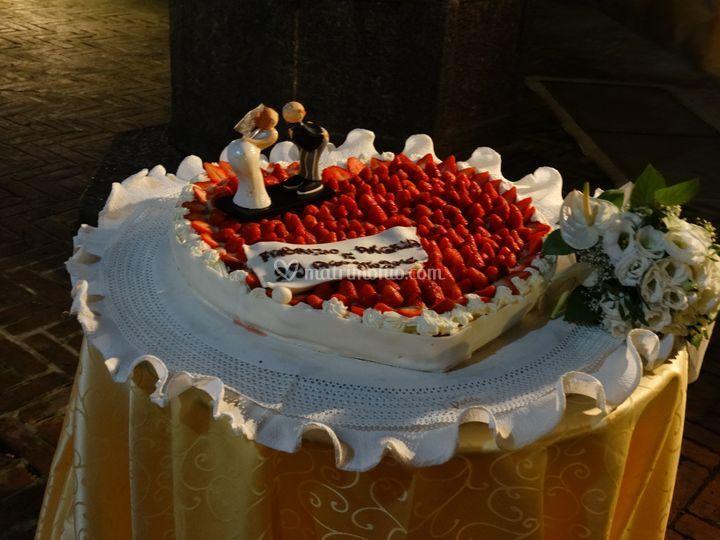 Particola Torta Nuziale