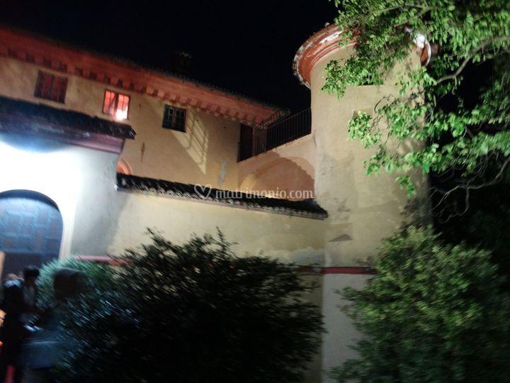 Mura del Castello di sera