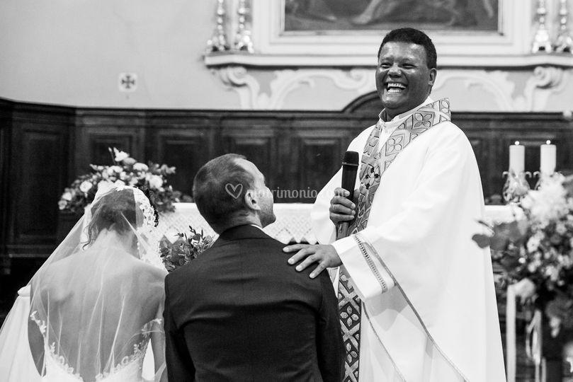 La celebrazione delle nozze