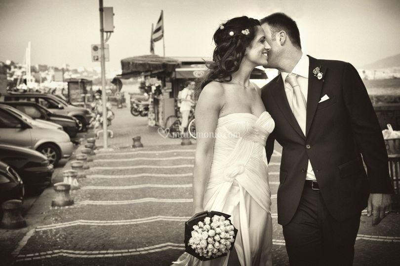 Sposi lungomare napoli