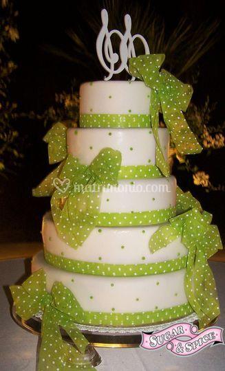 Sugar & Spice ,wedding cake