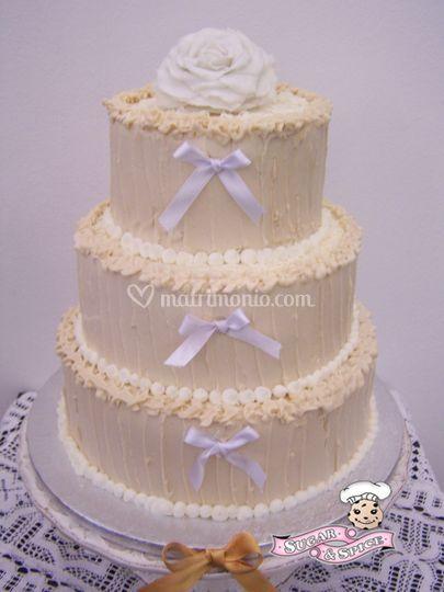 Sugar & Spice wedding cake,