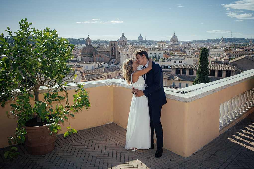 Roma Terrazza Caffarelli Di Alessandro Pellicciari Wedding
