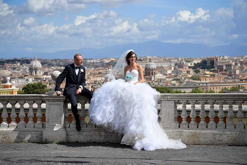 Roma Terrazza Pincio Di Alessandro Pellicciari Wedding