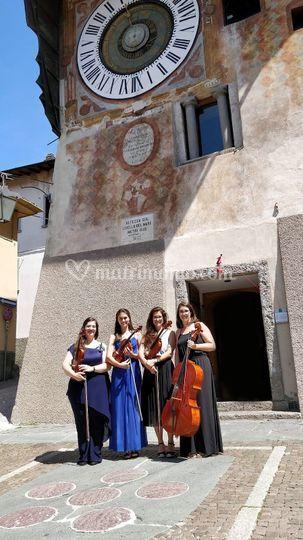 Concerto in piazza a Clusone